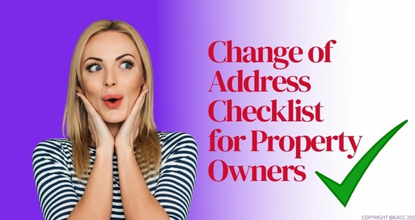 A To Z Guide For Changing Your Address