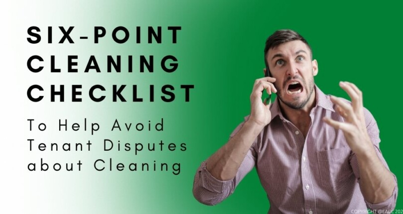 Six-Point Cleaning Checklist For Landlords
