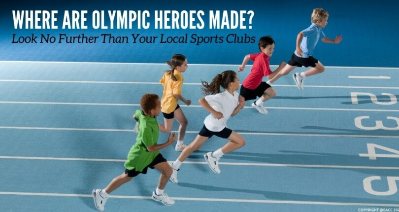 Where Are Olympic Heroes Made? Look No Further Than Your Local Sports Clubs